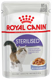 Кошкам :: <b>Корм</b> :: <b>Royal Canin</b> :: <b>Royal Canin Sterilised</b> в желе пауч ...