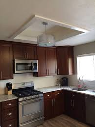 kitchen lighting fluorescent. Fluorescent Kitchen Light Box Makeover. Lighting P