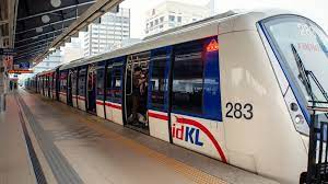 Fully automated and driverless rail system in the klang valley area. Kuala Lumpur Lrt Tunnel Time
