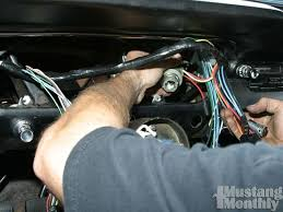 how to install a new wiring harness for your ford mustang mustang how to install a new wiring harness for your ford mustang