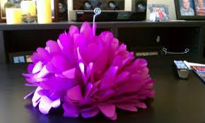 Tissue Paper Flower Centerpieces Please Show Me Your Paper Flower Bouquets Centerpieces