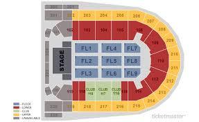 Mohegan Sun Arena At Casey Plaza Seating Chart
