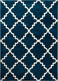 navy blue area rug 8x10 full size