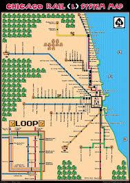 Chicago Cta Map A La Mario Bros Charts Maps And