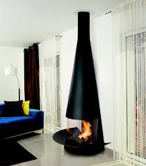 Chimenea de leos que adorna el interior del hogar de manera espectacular  http://. Wall Mounted FireplaceFreestanding FireplaceFireplace ...