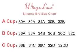 Wingslove Reusable Strapless Self Adhesive Silicone