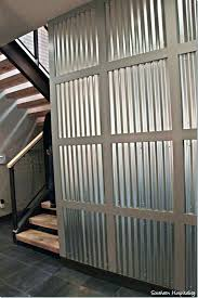 corrugated wall metal interior walls installing corrugated metal interior walls wall panels decorative awesome for