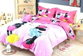 Minnie Mouse Sheets Full Mouse Comforter Set Full Disney Minnie ...