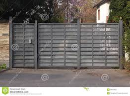 modern metal gate. Download Modern Metal Gate Stock Image. Image Of House, Property - 39519905 A
