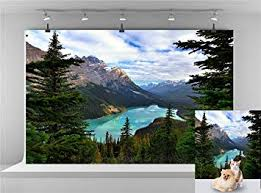 Canada Banff National Park Backdrop Natural ... - Amazon.com