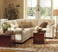 Buchanan Curved 3-Piece Small Sectional with Wedge #potterybarn