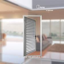 Louvered Aluminum ShuttersAluminum Louvered Exterior Doors