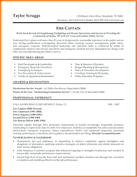 Template Firefighter Resume Template Promotion Fire Department