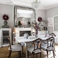 dining room ideas. Interesting Room White Festive Dining Room  Traditional Christmas Ideas  2013 PHOTO GALLERY On Dining Room Ideas H