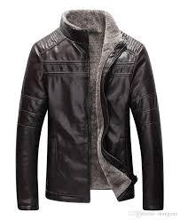 fall new winter warm mens genuine leather jacket men brown sheepskin fur coat man wool liner shearling jackets and coats collar blouse collar tree collar