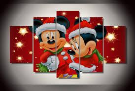 2017 home decor photo modulaire peinture mickey mini souris de