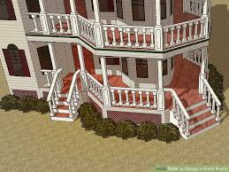 how to design a front porch 14 steps with pictures wikihow