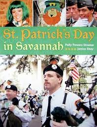 St. Patrick's Day in Savannah by Polly Powers Stramm