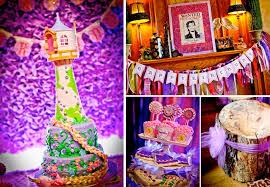 Korean Themed Party Decorations Karas Party Ideas Rapunzel Tangled Princess Girl 3rd Birthday