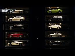 Singapore Car Vending Machine Video Magnificent Luxury Car Vending Machine' Milliondollar Supercars On Display In