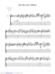 Kiss the rain sheet music by yiruma. Yiruma Kiss The Rain
