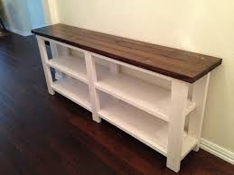 Models Diy Sofa Table Ana White Narrow Plans Tehranmix Decoration Intended Inspiration Decorating