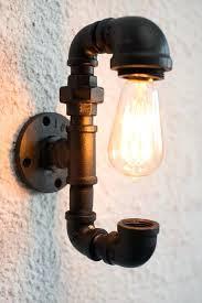 pipe fixtures 2 wall lighting fixture with spectacular light bulb black pipe bathroom fixtures