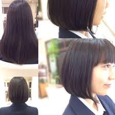 高校生 サラサラボブ Hair Verdeヘアー ヴェルデのヘアスタイル