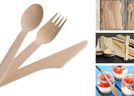 wooden cutleries disposable fork