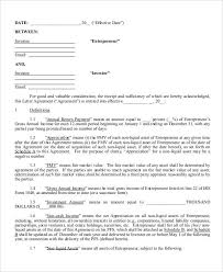 Investor Agreement Template 7 Investment Contract Templates Free