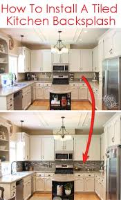 How To Install A Pencil Tile Backsplash And What It Costs The Beauteous Kitchen Backsplash Installation Cost Property