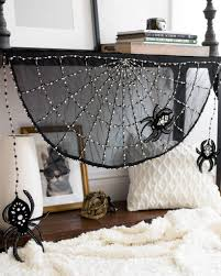 Beaded Spider web Mantle Scarf by Balsam Hill
