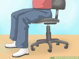 fix chairs legs. image titled fix a squeaky desk chair step 4 chairs legs o