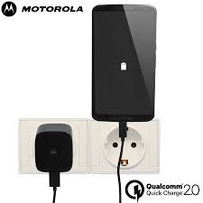 motorola quick charger. motorola turbo charger with qualcomm quick charge 2.0 - eu mains