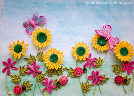 paper quilling wall art designs