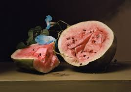 sharon core is most know for her photographic recreations of famous paintings food