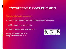 Wedding Planner Ppt Ppt Best Wedding Planner In Udaipur Powerpoint Presentation Id