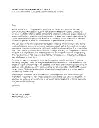 Cover Letter Template For Referral Example From Employee Referral