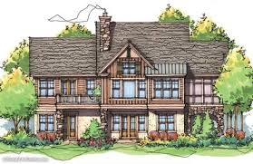 Renderings Photo of Home Plan   the Riva RidgeRear Color House Plan