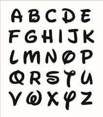 Disney Font Disney Font Wooden Letters Laser Cut 2mm Mdf Blank Embellishments Various Sizes