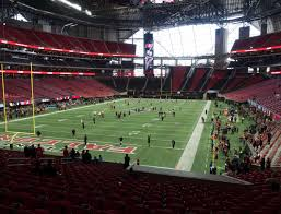New Orleans Mercedes Benz Superdome Seating Chart Mercedes Benz Stadium Section 117 Seat Views Seatgeek