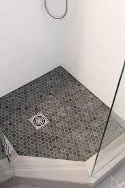 mosaic shower floor tile. Chase\u0027s Bathroom: Beautiful Bathroom Renovation Project Featuring 4\ Mosaic Shower Floor Tile E