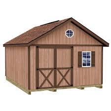 Small Picture Best Barns Wood Sheds Sheds The Home Depot