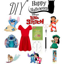 diy costume lilo stitch polyvore