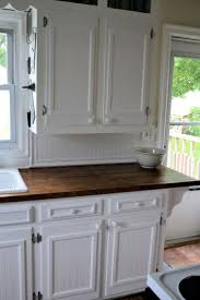 kitchens with stained wooden baseboards we used chair