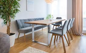 Tisch Und Bank In 2019 Esstisch Bank Minimalistische