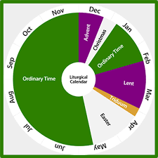 Purchase includes 1 page catholic liturgical color guide and 1 page key ( 8.5 x 11 letter size. Liturgical Calendar 2019 2020 Carfleo