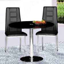 small round dining table set iron wood small black table and