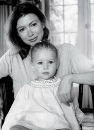 joan didion and her daughter photo by jill krementz  how joan didion the writer became joan didion the legend