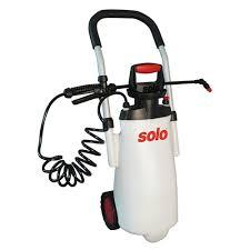 garden pump sprayer. Solo 11 Litre Pump Sprayer Mobile On Wheels Garden 4